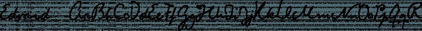 Edvard font family by Julia Bausenhardt