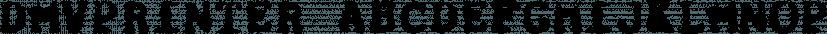 DMVPrinter font family by E-phemera Fonts