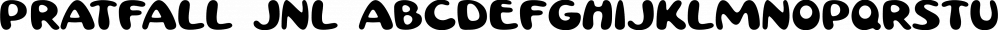 Pratfall JNL font family by Jeff Levine Fonts