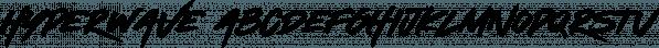 Hyperwave font family by Set Sail Studios