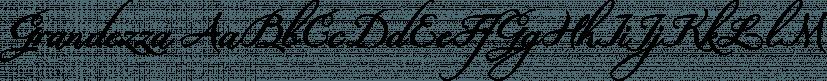Grandezza font family by Wiescher-Design