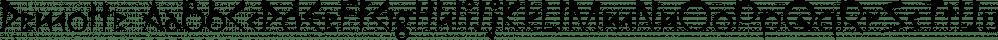 Demotte font family by Ingrimayne Type