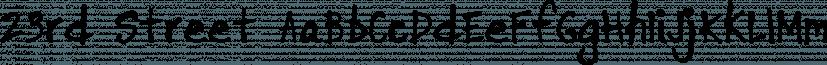 23rd Street font family by Albatross