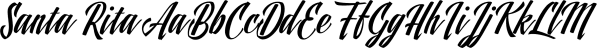 Santa Rita font family by Eurotypo