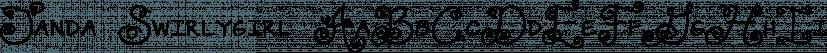 Janda Swirlygirl font family by Kimberly Geswein Fonts