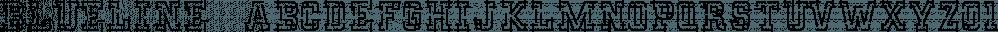 Blueline™ font family by MINDCANDY