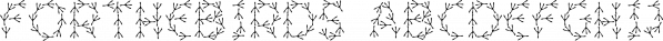 ForTheBirds font family by Ingrimayne Type