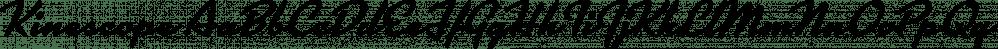 Kinescope font family by Mark Simonson Studio