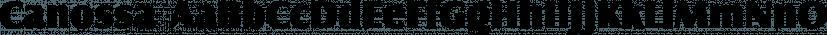Canossa font family by FontSite Inc.