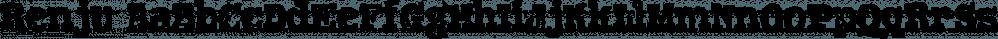 Renju font family by Typodermic Fonts Inc.