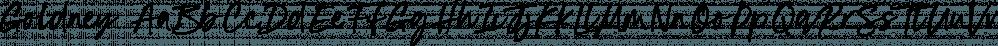 Goldney font family by Set Sail Studios