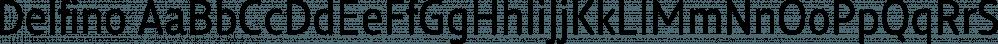 Delfino font family by Letritas