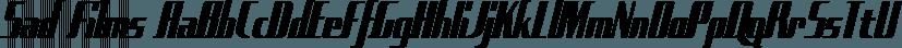 Sad Films font family by Typodermic Fonts Inc.