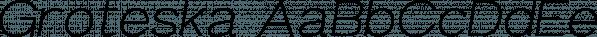 Groteska font family by Fontastica