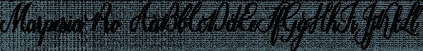Marpesia Pro font family by Anastasia Dimitriadi