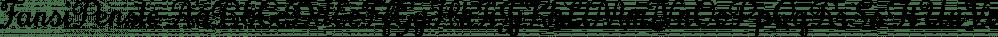 FansiPensle font family by Ingrimayne Type
