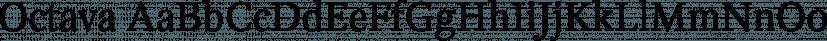 Octava font family by ParaType