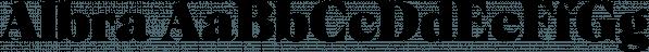 Albra font family by Bumbum Type