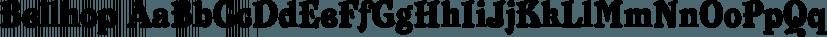 Bellhop font family by FontSite Inc.
