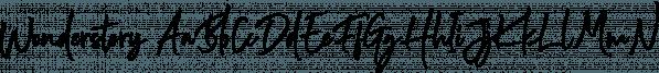 Wonderstory font family by Letterhend Studio