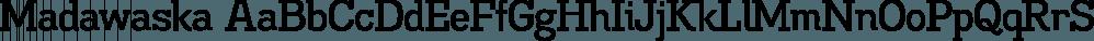 Madawaska font family by Typodermic Fonts Inc.
