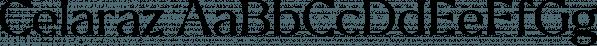 Celaraz font family by Tokotype