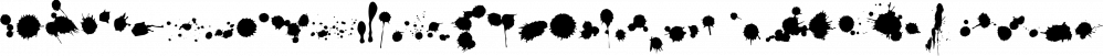 insigne Splats! font family by Insigne Design