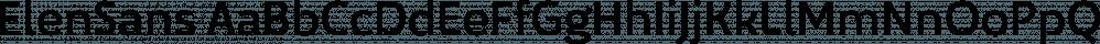 ElenSans font family by Hurufatfont Type Foundry
