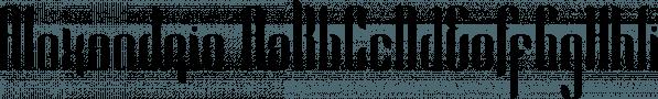 Alexandria font family by VPcreativeshop