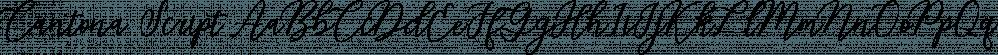 Cantona Script font family by Måns Grebäck