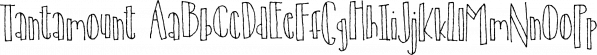 Tantamount font family by Bogstav