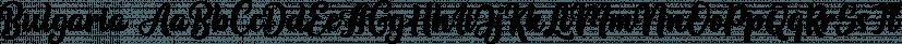 Bulgaria font family by Letterhend Studio