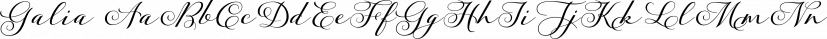 Galia font family by Eurotypo