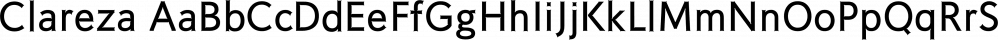 Clareza font family by Wilton Foundry