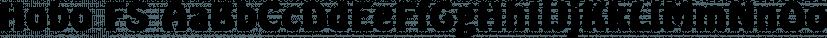 Hobo FS font family by FontSite Inc.