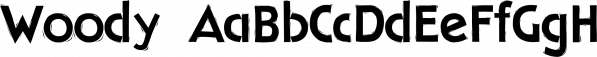 Woody font family by Wiescher-Design