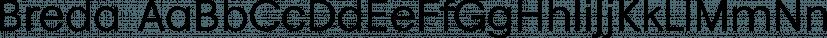 Breda font family by Eurotypo
