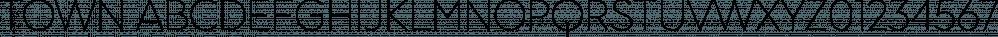 Town font family by Jason Vandenberg