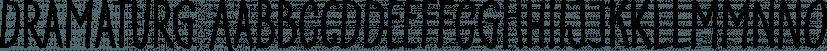 Dramaturg font family by GRIN3 (Nowak)