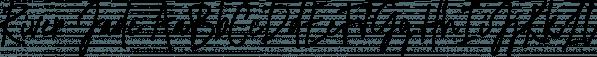 River Jade font family by Skyla Design