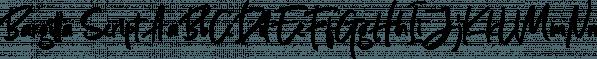 Bargitta Script font family by Letterhend Studio