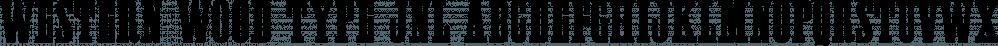 Western Wood Type JNL font family by Jeff Levine Fonts