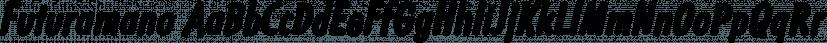 Futuramano font family by Wiescher-Design