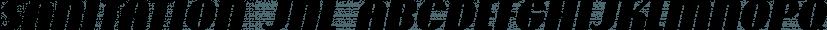 Sanitation JNL font family by Jeff Levine Fonts