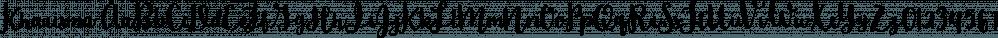 Kharisma font family by On The Spot Studio