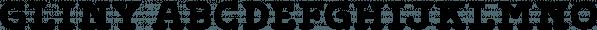 Gliny font family by Typesketchbook