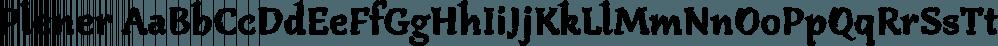 Plener font family by LetterPalette
