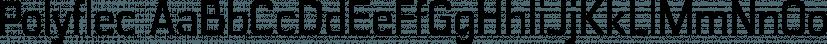 Polyflec font family by Typodermic Fonts Inc.