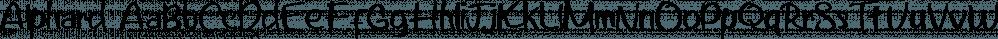 Alphard font family by Bonjour Type