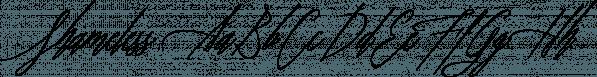 Shameless font family by Positype